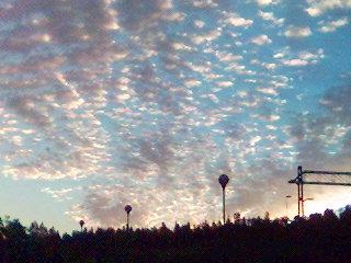 Vackra moln