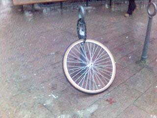 Var är cykeln?